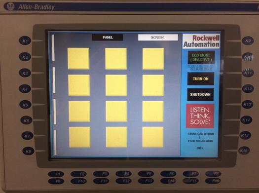 Figure 3.2 : Human-Machine Interface